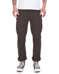 Nudie Jeans - Nudie Jeans Loose Leif Pitch Black - Lyst