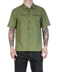 Nudie Jeans - Nudie Jeans Svante Army Shirt Beech Green - Lyst