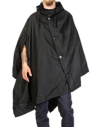 Barbour - X Engineered Garments Wax Cape Black - Lyst