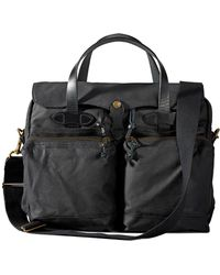 Filson - 24-hour Tin Briefcase Black - Lyst