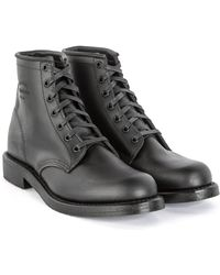 "Chippewa Boots - Chippewa 6"" Trooper Service Boot Black - Lyst"