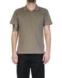 Universal Works - Pique Shirt Warm Stone - Lyst