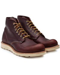 "Red Wing - 8196d 6"" Round Toe Briar - Lyst"