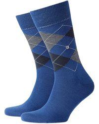 Burlington - Edinburgh Socks Blue - Lyst