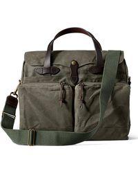 Filson - 24-hour Tin Briefcase Otter Green - Lyst