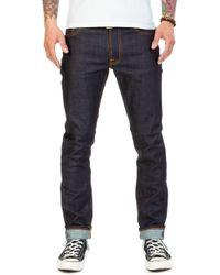 Nudie Jeans - Lean Dean Dry Japan Selvage 13.5oz - Lyst