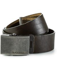 Nudie Jeans - Harrysson Scout Belt Leather Ivy - Lyst