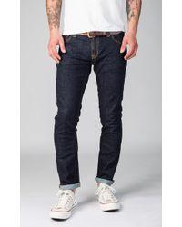 Nudie Jeans - Nudie Jeans Long John Twill Rinsed 11oz - Lyst