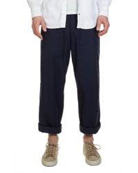 Levi's - Pesko Wide Crop Pants Black Iris - Lyst