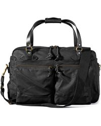 Filson - 48-hour Duffle Bag Black - Lyst