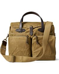 Filson - 24-hour Tin Briefcase Tan - Lyst