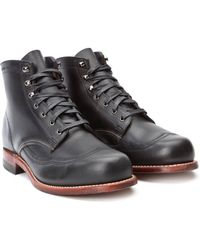 Wolverine - 1000 Mile Boot Addison Boot Black - Lyst