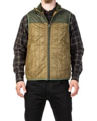 Filson - Ultra-light Vest Field Olive - Lyst
