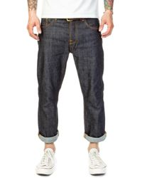 Nudie Jeans - Nudie Jeans Sleepy Sixten Dry Deep 12oz - Lyst