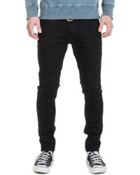 Nudie Jeans - Tight Terry Ever Black - Lyst