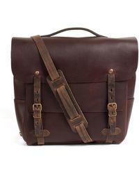 Bleu De Chauffe - Postman Bag Large Eclair Tourbe - Lyst