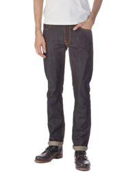 Nudie Jeans - Nudie Jeans Thin Finn Dry Selvage 13.5oz - Lyst