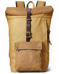 Filson - Roll-top Backpack Tan - Lyst