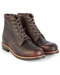 "Chippewa Boots - Chippewa 6"" Pitstop Service Boots Briar - Lyst"