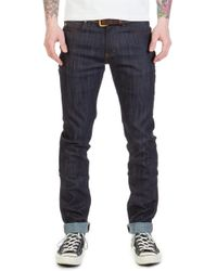 Naked & Famous - Super Skinny Guy Indigo Power Stretch 12oz - Lyst