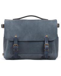 Bleu De Chauffe - Postman Bag Eclair Indigo - Lyst