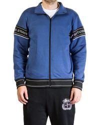 Stussy - Pierre Track Jacket Blue - Lyst