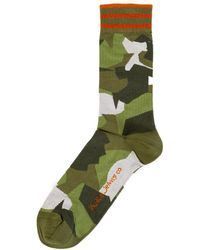 Nudie Jeans - Olsson Camo Socks - Lyst