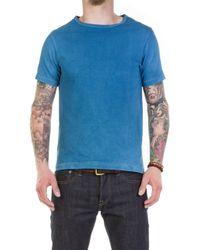 Merz B. Schwanen - 215 Army Shirt 1/4 Natural Indigo - Lyst