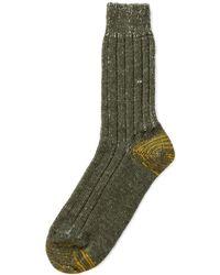 Merz B. Schwanen - S72 New Wool Socks Army/nature - Lyst