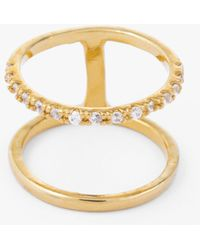 Tai - Gold Two Row Ring - Lyst