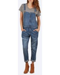 Current/Elliott - The Ranch Hand Overall - Lyst