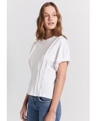 Current/Elliott - The Pintucked Tee - Lyst