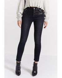 Current/Elliott - The Fused High Waist Stiletto Jean - Lyst