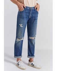 Current/Elliott - The Fling Relaxed Fit Jean - Lyst