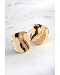 Cushnie et Ochs - Gold Phoena Earrings - Lyst