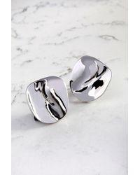 Cushnie et Ochs - Silver Phoena Earrings - Lyst