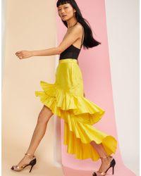 Cynthia Rowley - Camila Tiered Ruffle Skirt - Lyst