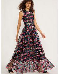 Cynthia Rowley - Lorelei Embroidered Floral Dress - Lyst