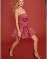 Cynthia Rowley - Lulu Babydoll Mini Dress - Lyst