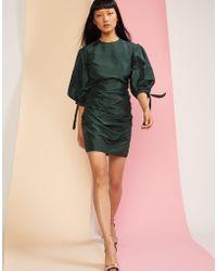 Cynthia Rowley - Ruched Short Dress - Lyst