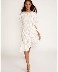 Cynthia Rowley - Mini Rosebud Wallflower Wrap Dress - Lyst