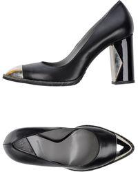 Karl Lagerfeld Court black - Lyst