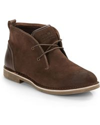 Marc New York By Andrew Marc Stanton Suede Chukka Boots - Lyst