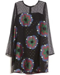 Suno | Embroidered Shift Dress | Lyst