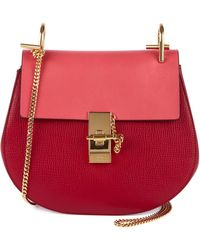 Chloé Drew Small Chain Shoulder Bag - Lyst