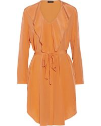 Saloni Louisa Silk Dress - Lyst