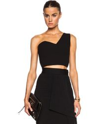 Roland Mouret Rothley Top - Lyst