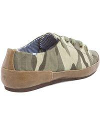 Charles Philip - Bianca Sneaker in Green - Lyst