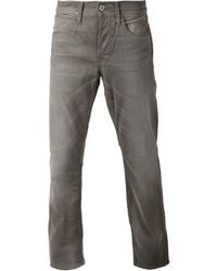 Hudson Gray Faded Jeans - Lyst