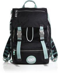 Kenzo Nylon Backpack - Lyst